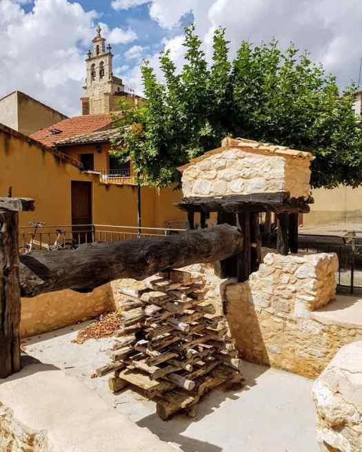 Monumento al Vino en Langa de Duero