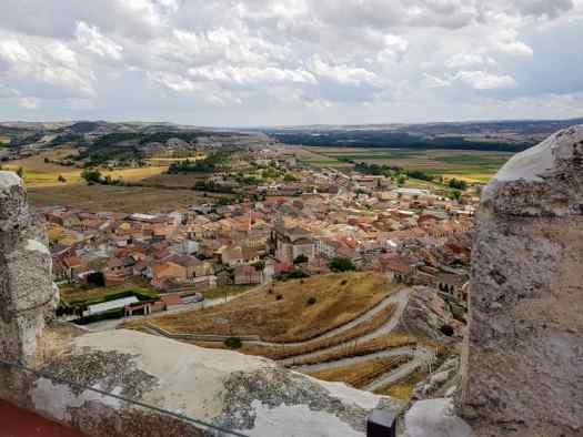 Vistas a Langa de Duero desde el Castillo