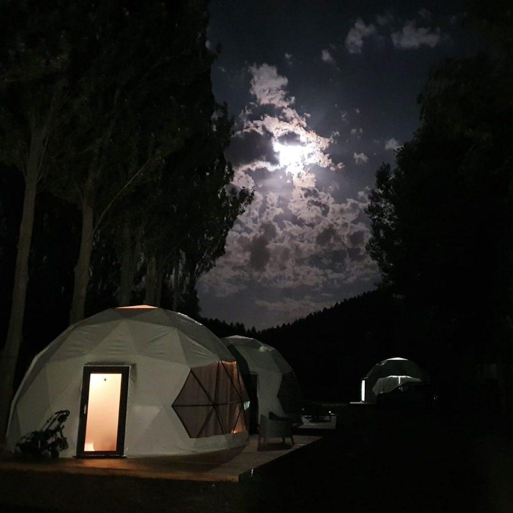Perseidas Camping Rio Lobos