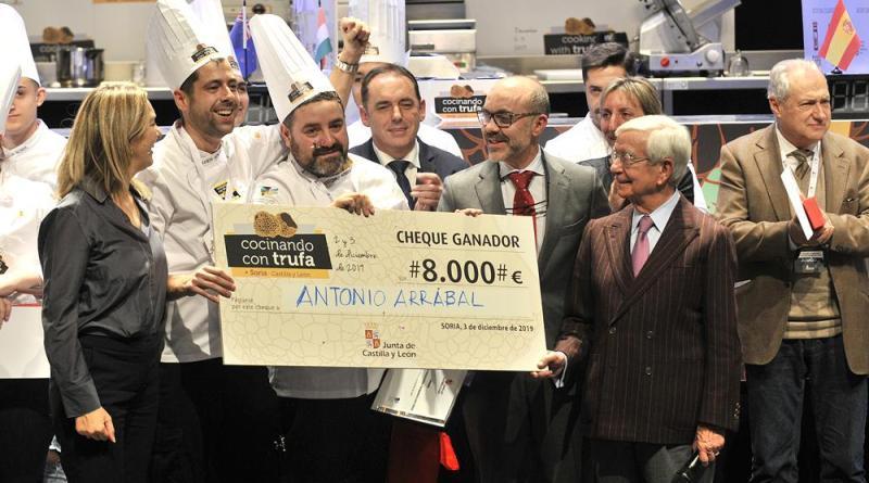 Arrabal y Andrade hacen patria y se imponen en el Cocinando con Trufa 2019