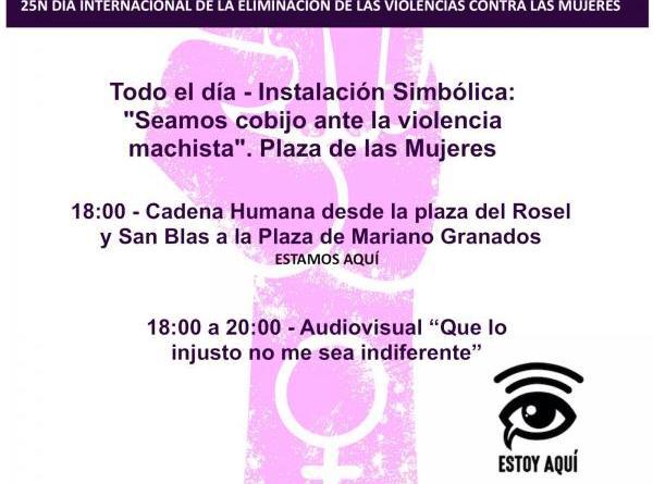 El Consejo Municipal de la Mujer programa un 25N que hará visible con una cadena humana la lucha contra la violencia machista