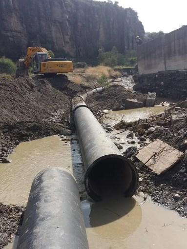 Riparato l'acquedotto Tuccio, ripresa erogazione 68 383x510