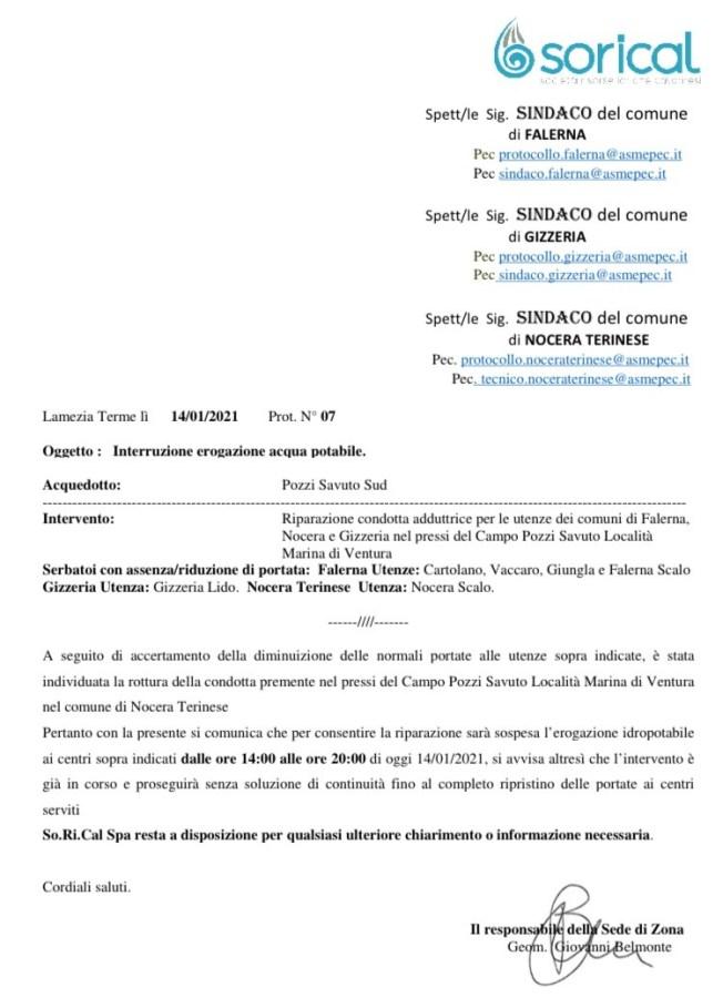 Stop erogazione pozzi Savuto img 5983 652x900