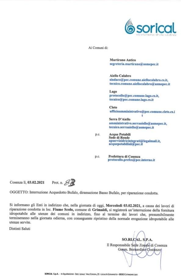 Interruzione acquedotto Bufalo per riparazione condotta img 6143