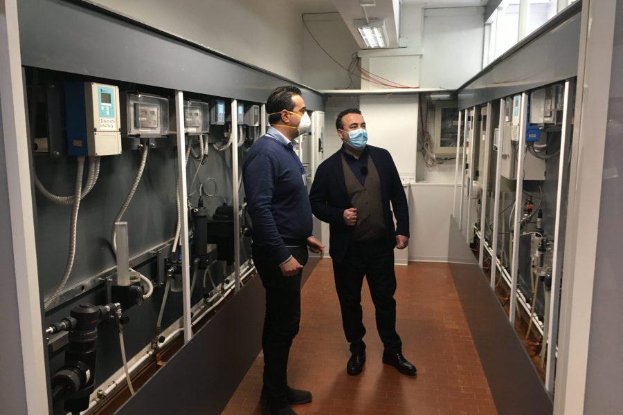 Alaco, ecco la nuova sala analisi del potabilizzatore IMG 6605 2 scaled