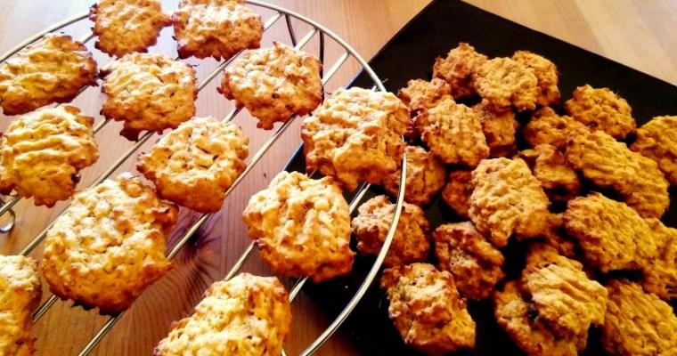 Biscuiti cu cartof dulce si ghimbir – Sweet potato and ginger cookies