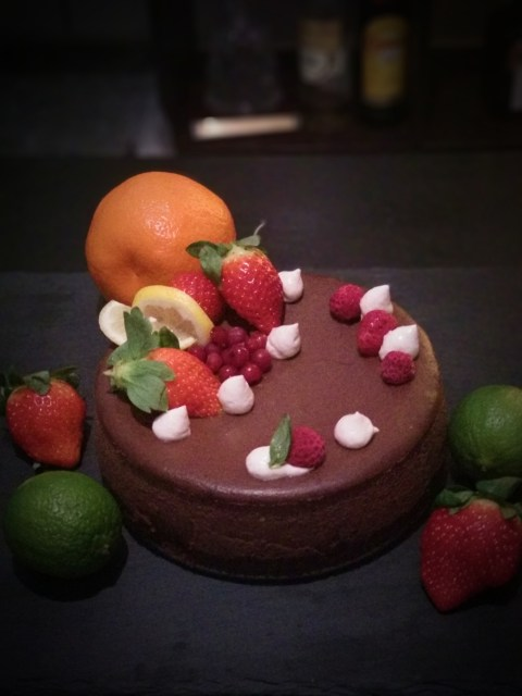 Cheesecake cu ciocolata