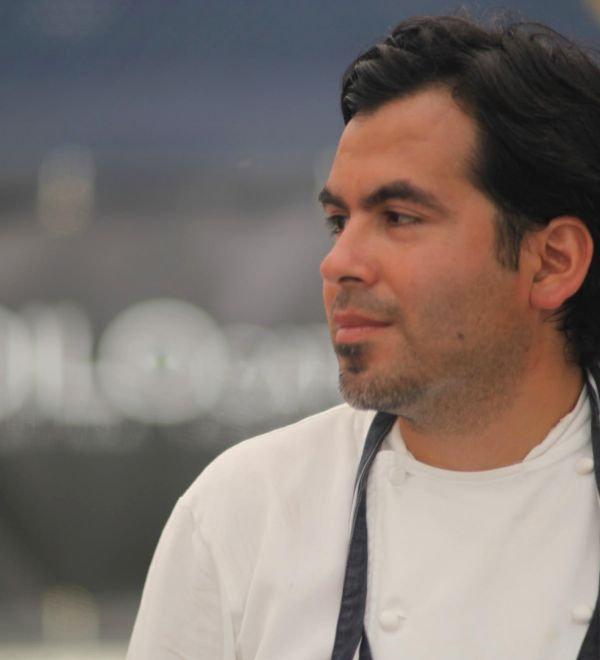 London-based chef patron Diego Jacquet.