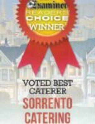 Sorrento Catering Best Caterer 2017