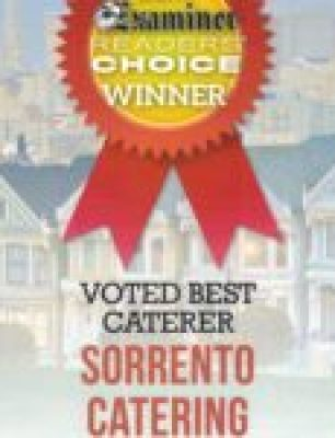 Sorrento Catering Best Caterer 2017