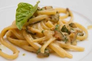 Spaghetti Nerano Foods in Sorrento