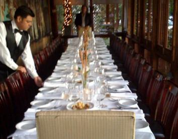 Private dining Italian Restaurant