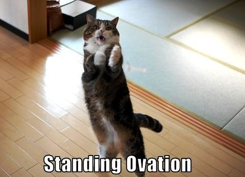 standing ovation pour l'infidélité
