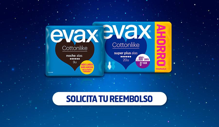 Prueba gratis Evax Cottonlike por reembolso