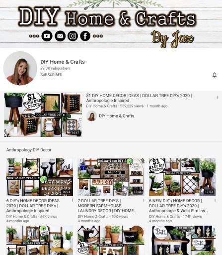 DIY Home & Crafts By Jaz