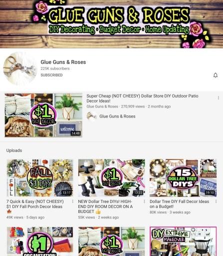 GLUE GUNS & ROSES