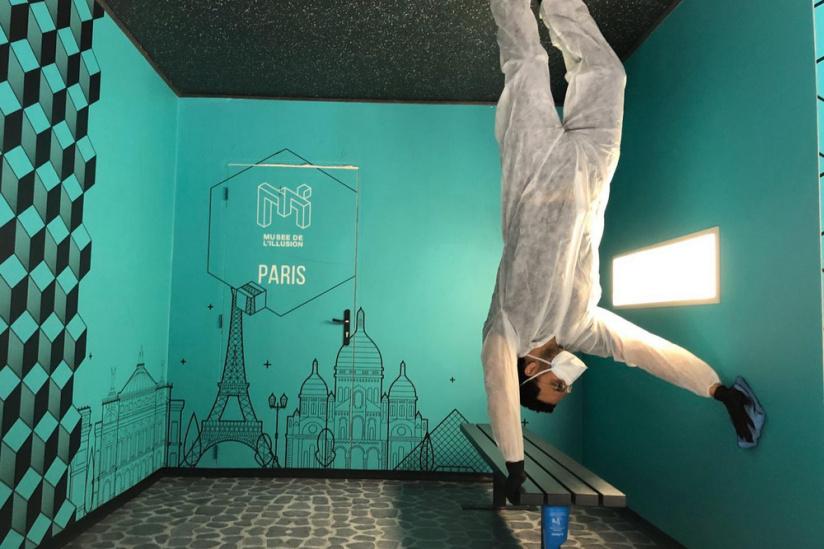 Coronavirus : À Paris, le musée de l'illusion se prépare pour une réouverture le 11 mai 2020