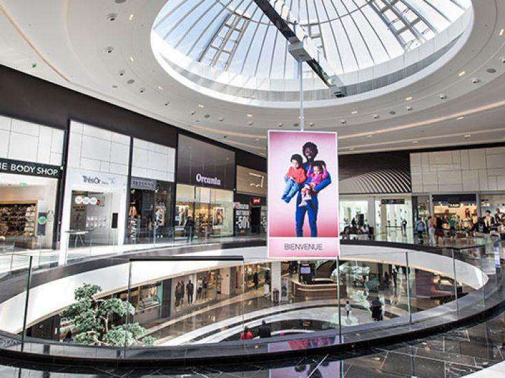 fermeture du centre commercial de rosny