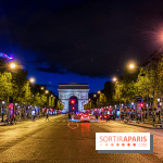 Visual Paris Arc de Triomphe Champs Elysées at night