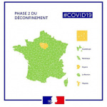 Coronavirus: The deconfinement map by department