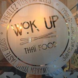 wok up