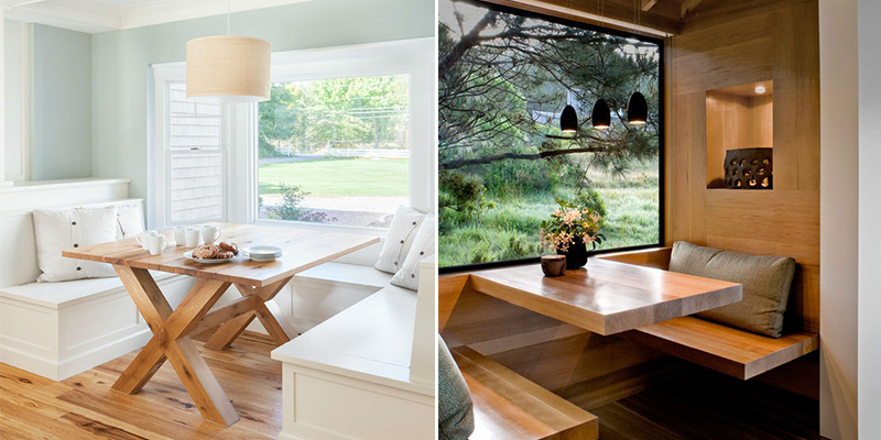 32 Most Beautiful Breakfast Nook Design Ideas on Nook's Cranny Design Ideas  id=96338