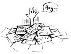 Trop de papier