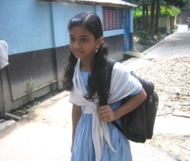 A Girl From A Local Family Is Able To Attend School Thanks To A Scholarship From Sos Childrens Villages Photo Sos Archives