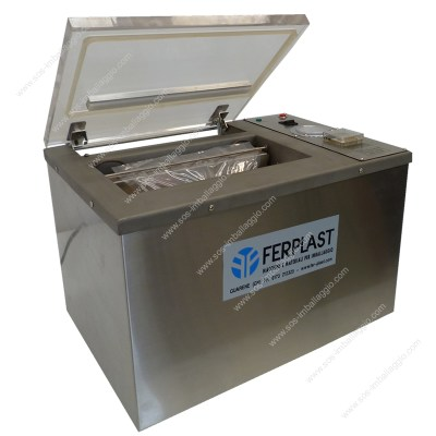 square packages vacuum machine
