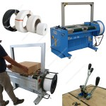 Boxes strapping machines