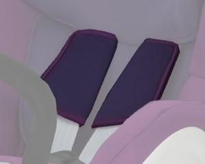 Coussinets Dualfix mineral purple