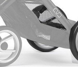 2 roues arrières pneumatiques Evo