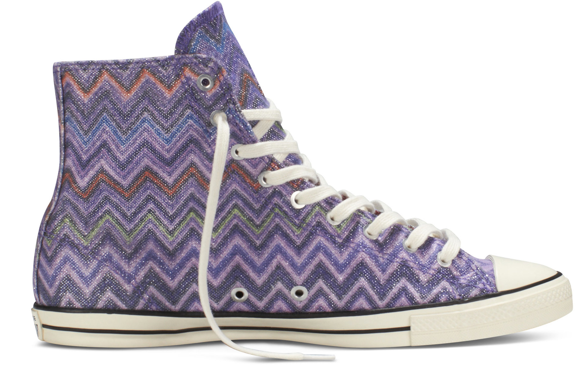 f9d6843043f2 This beauty will be available in two colour ways  Hollyhock Auburn and Black  Egret. Converse Missoni Chuck Taylor All Star Fancy