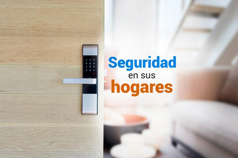 seguridad en sus hogares