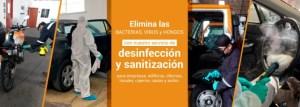 collage desinfección