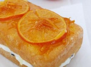Pan di Spagna all'Arancia con Crema di Ricotta e Yogurt