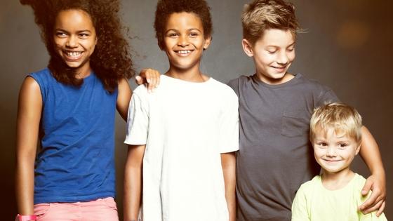 Diverse sibling group