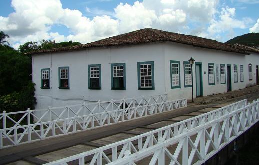 Essa é a casa onde Cora Coralina viveu, em Vila Boa de Goiás, Goiás,  e que foi transformada em museu