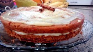 Esse bolo indiano é muito gostoso e fica bem fofinho