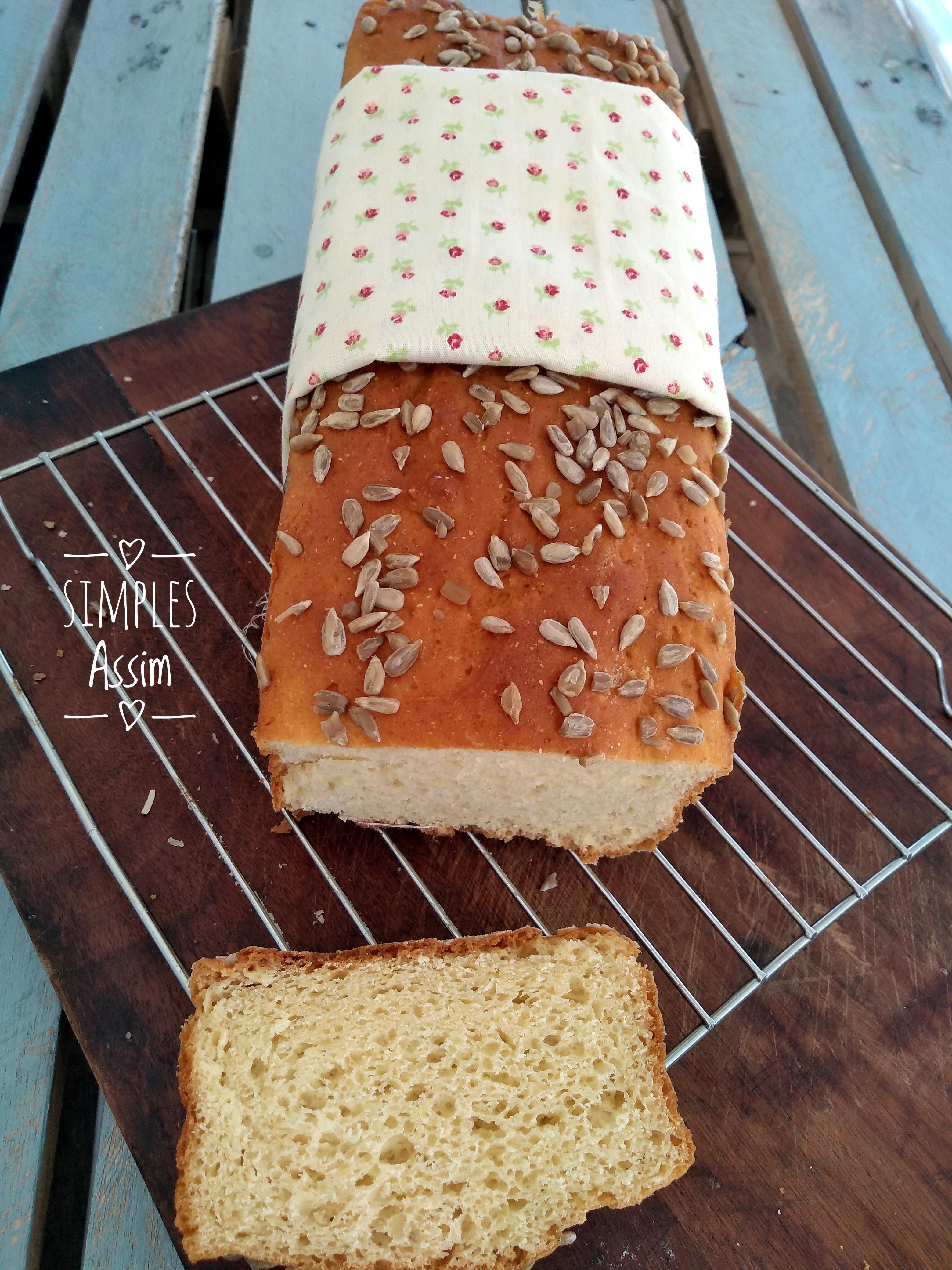 Esse pão sem glúten é fofinho e fica delicioso