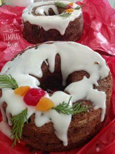 Esse é o melhor bolo de Natal para mim.