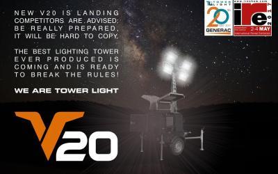 Torres de iluminación Generac V20