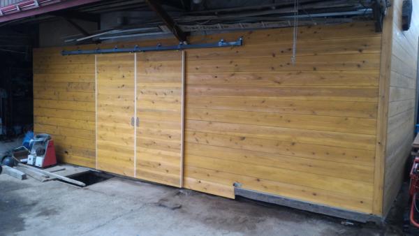 土蔵外壁改修 完成