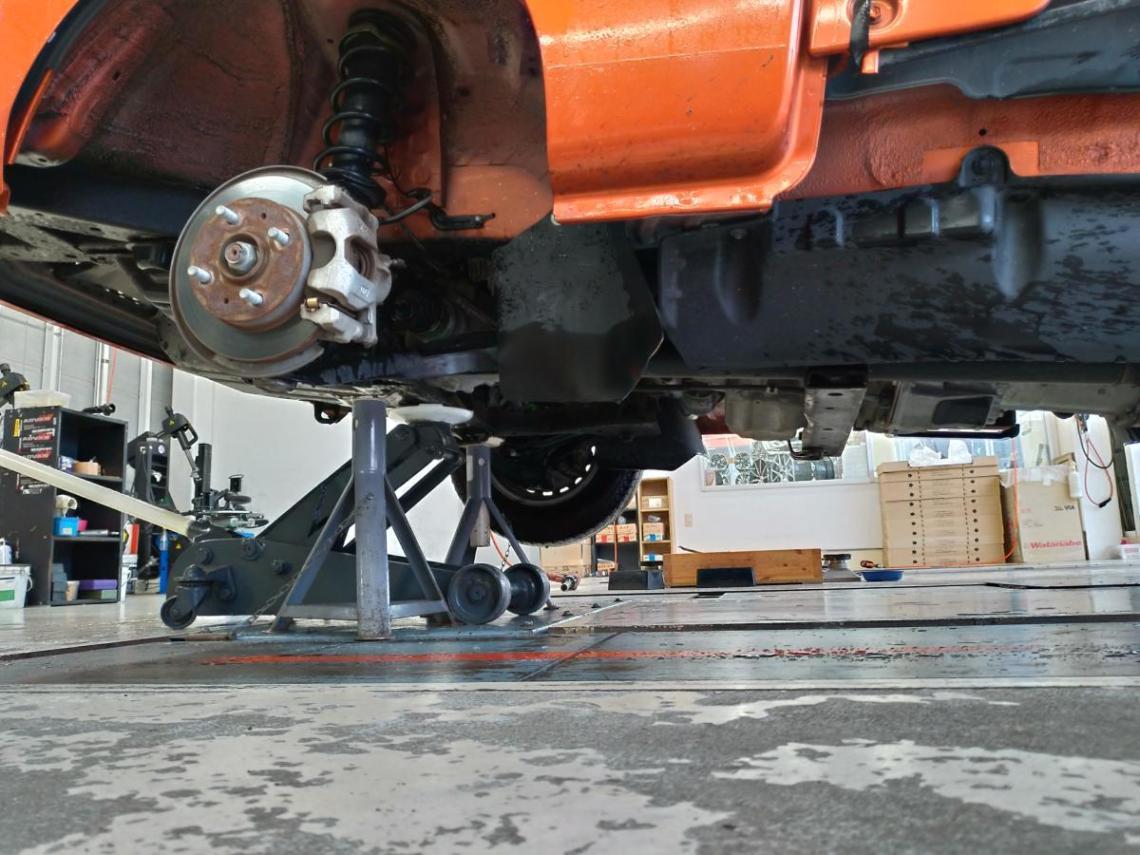 ハイゼットトラック S510P 前輪リジットラック(ウマ)ポイント