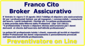Franco Cito Broker - Preventivatore rc professionale