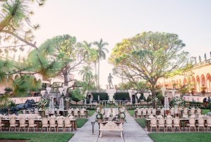 Ringling Museum Wedding Courtyard