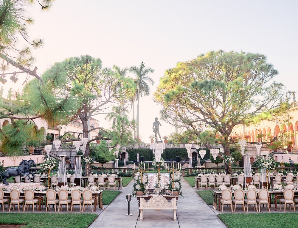 Ringling Museum Wedding Courtyard