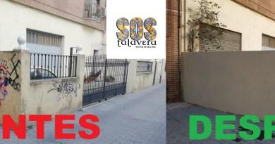 LIMPIEZA-FACHADAS-TALAVERA-PAREDES-PINTADAS-AYUNTAMIENTO-VECINOS-ASOCIACIONES-SOS-TALAVERA-COMARCA-IMAGEN-CIUDAD