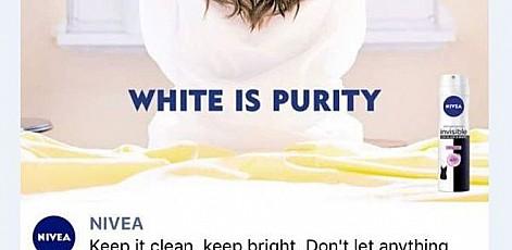 Nivea обвинили в расизме из-за картинки «Белое – это чистота»