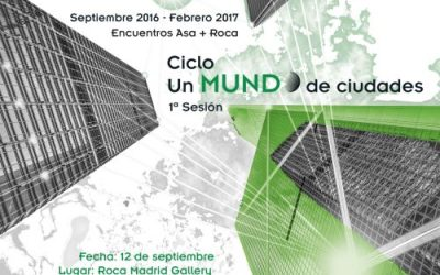 ENCUENTROS ASA 2016: UN MUNDO DE CIUDADES